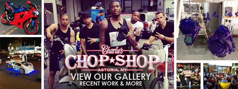 View Our Gallery - Charlie's Chop Shop